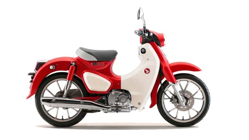 HONDA C125 SUPER CUB valencia roja