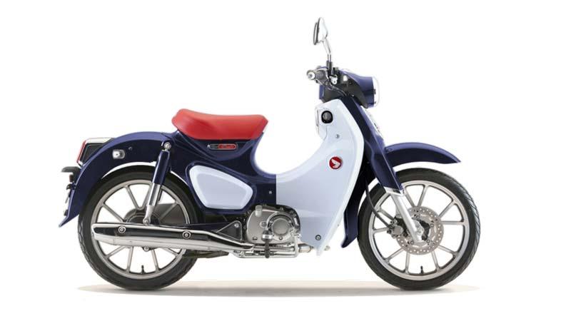 HONDA C125 SUPER CUB valencia azul