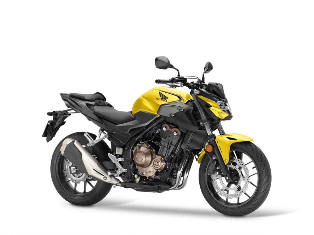 Honda CB500F 2021 AMARILLA
