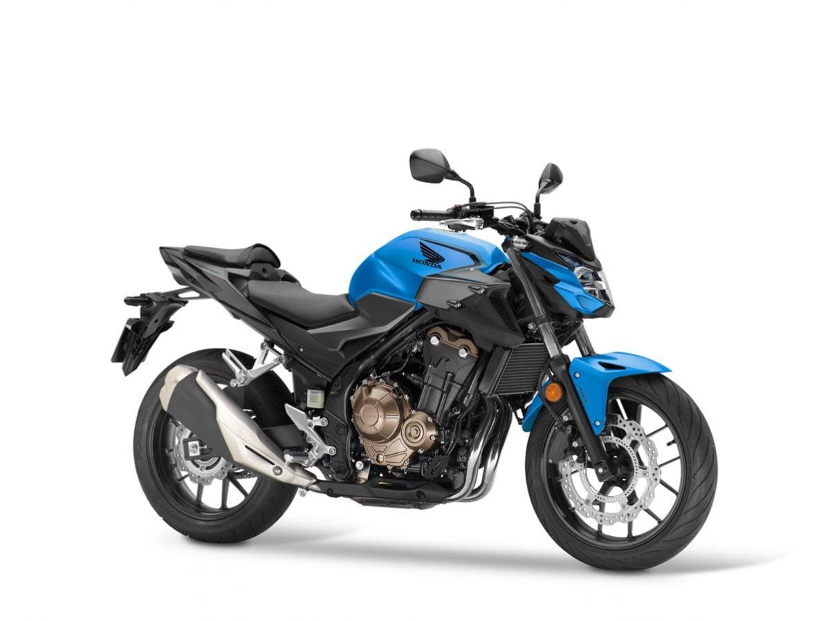 Honda CB500F 2021 AZUL