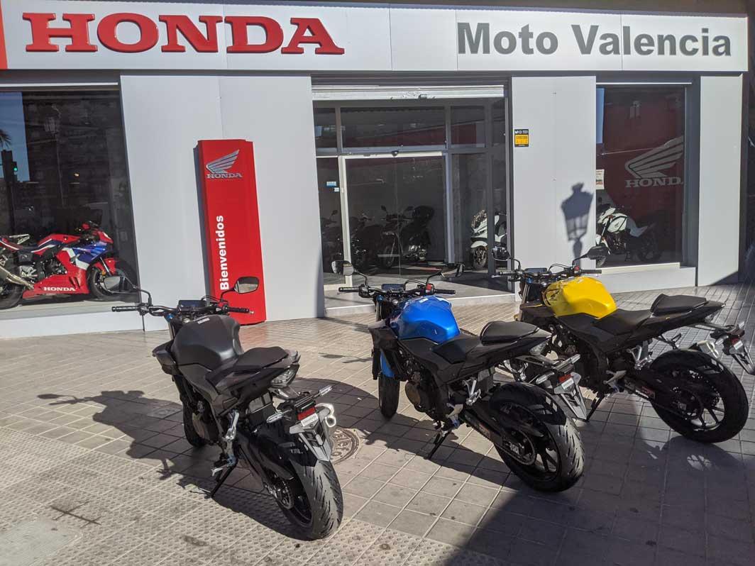 cb500f en honda moto valencia