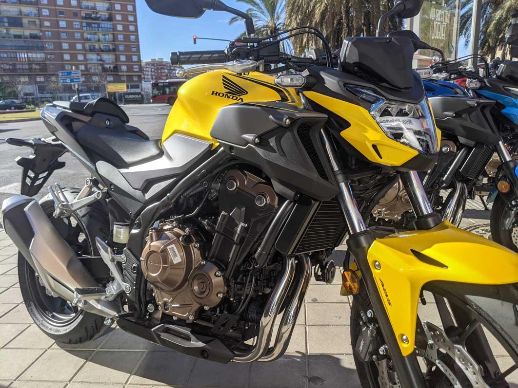 cb500f amarilla