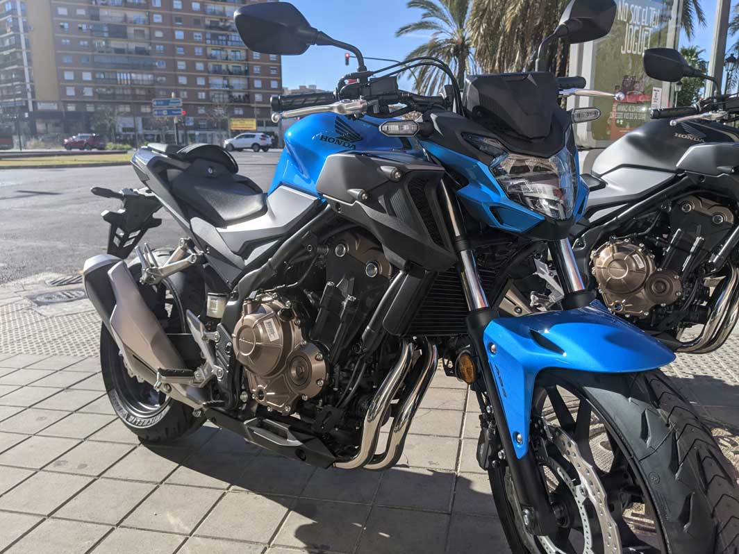 cb500f azul