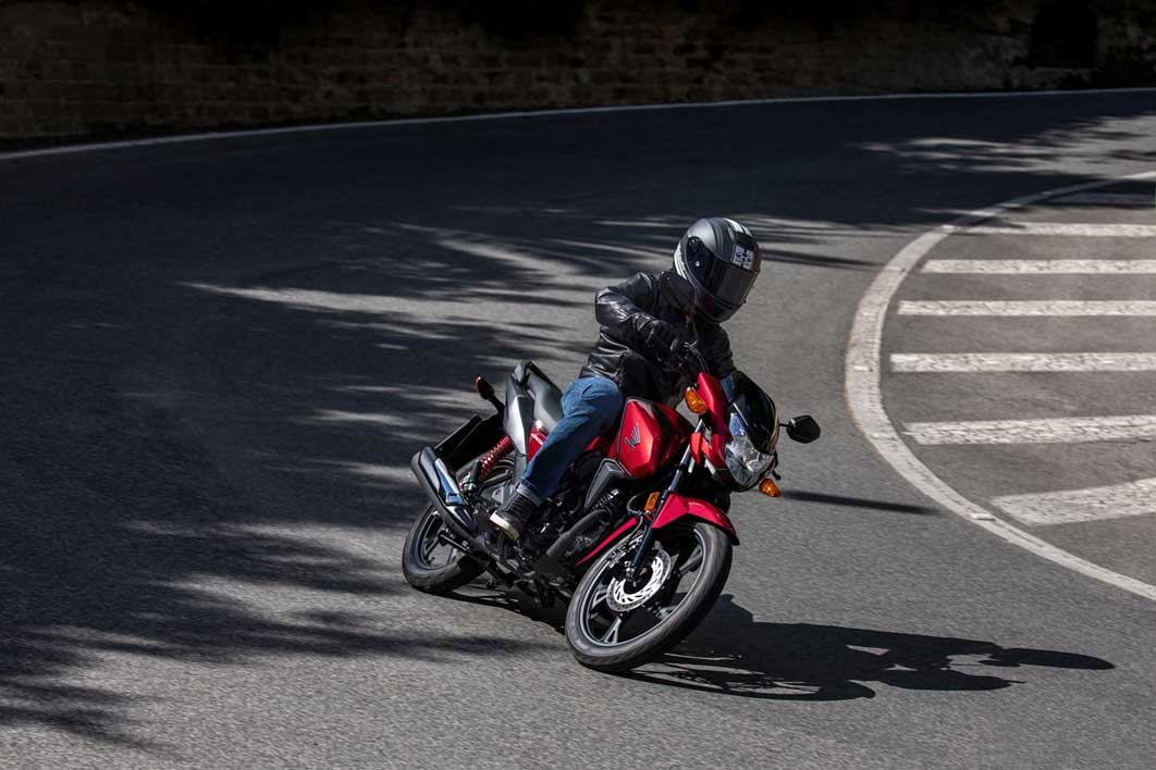 moto honda cb125f valencia