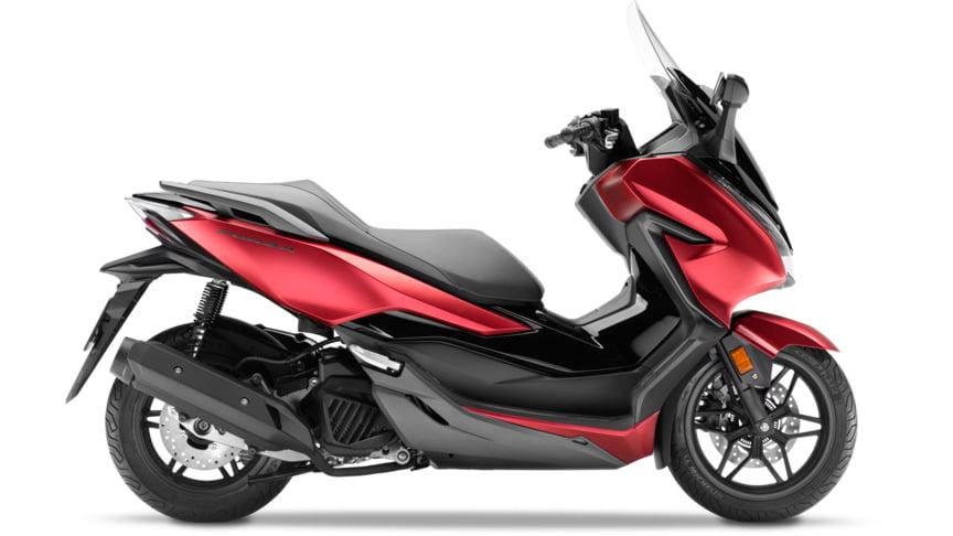 Honda Forza 125 ABS Rojo Carnelian