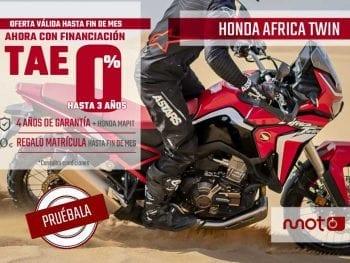 OFERTA AFRICA TWIN 1100