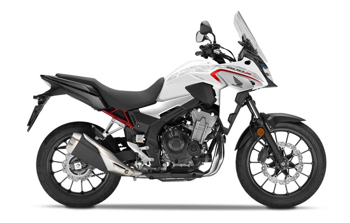 CB500X 2021 valencia blanca