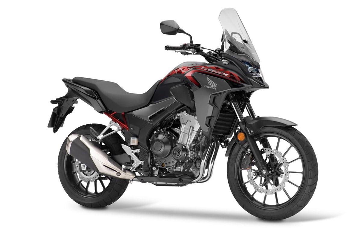 CB500X 2021 valencia negro