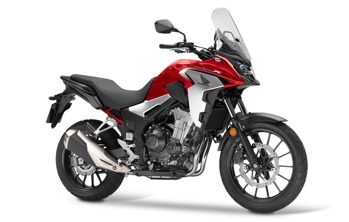 CB500X 2021 valencia roja