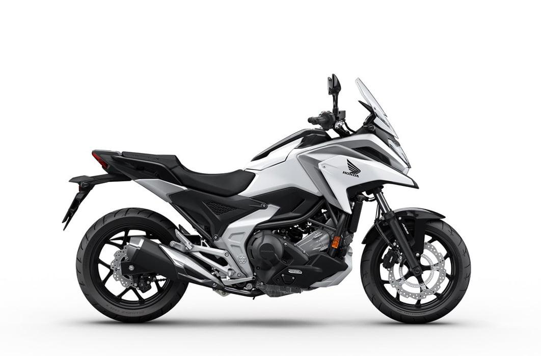 HONDA NC750X 2021 blanca