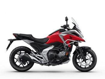 HONDA NC750X 2021 rojo