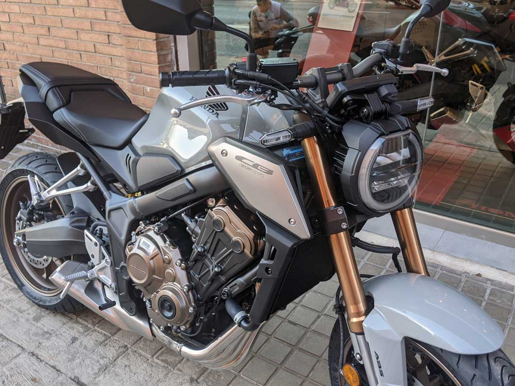frontal cb650r 2021