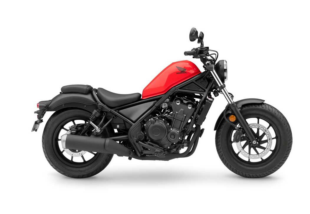 REBEL 500 2020 ROJA
