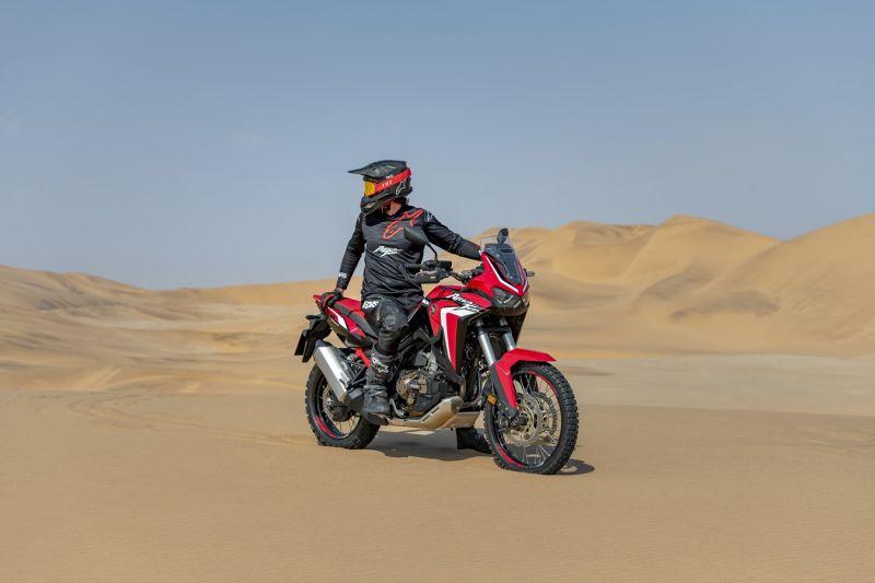 viaje desierto Honda africa twin 2020 crf1100