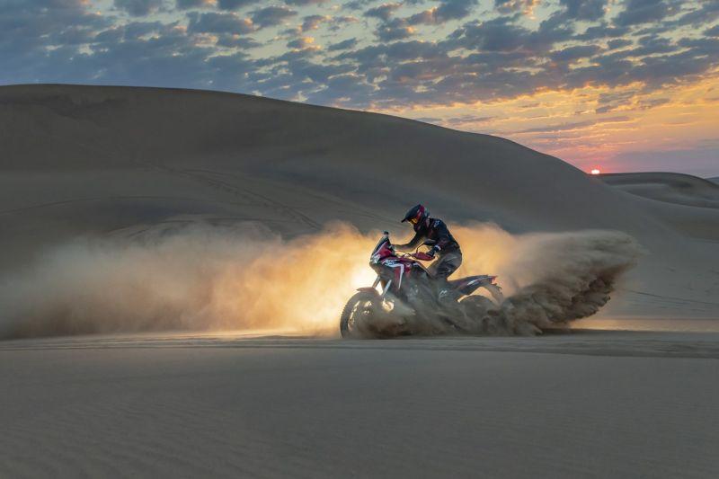 viaje dunas Honda africa twin 2020 crf1100