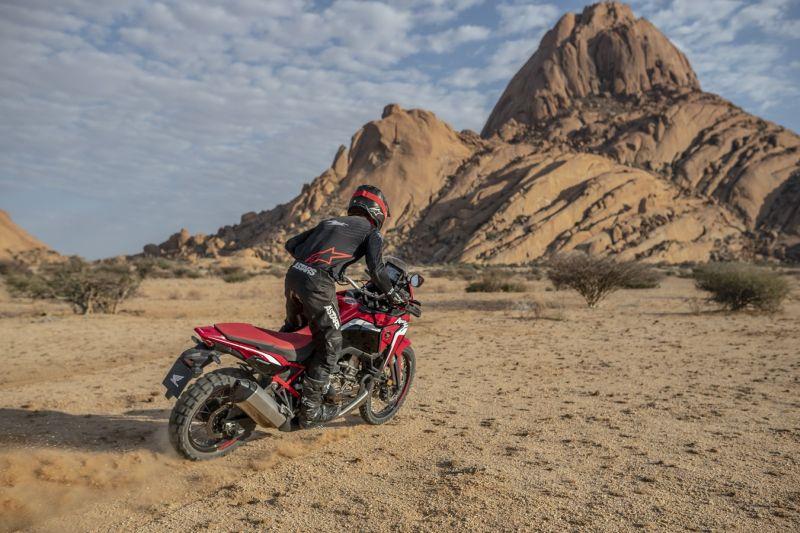 dunas Honda africa twin 2020