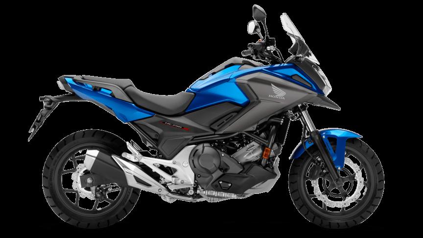Honda NC750X Azul Glint