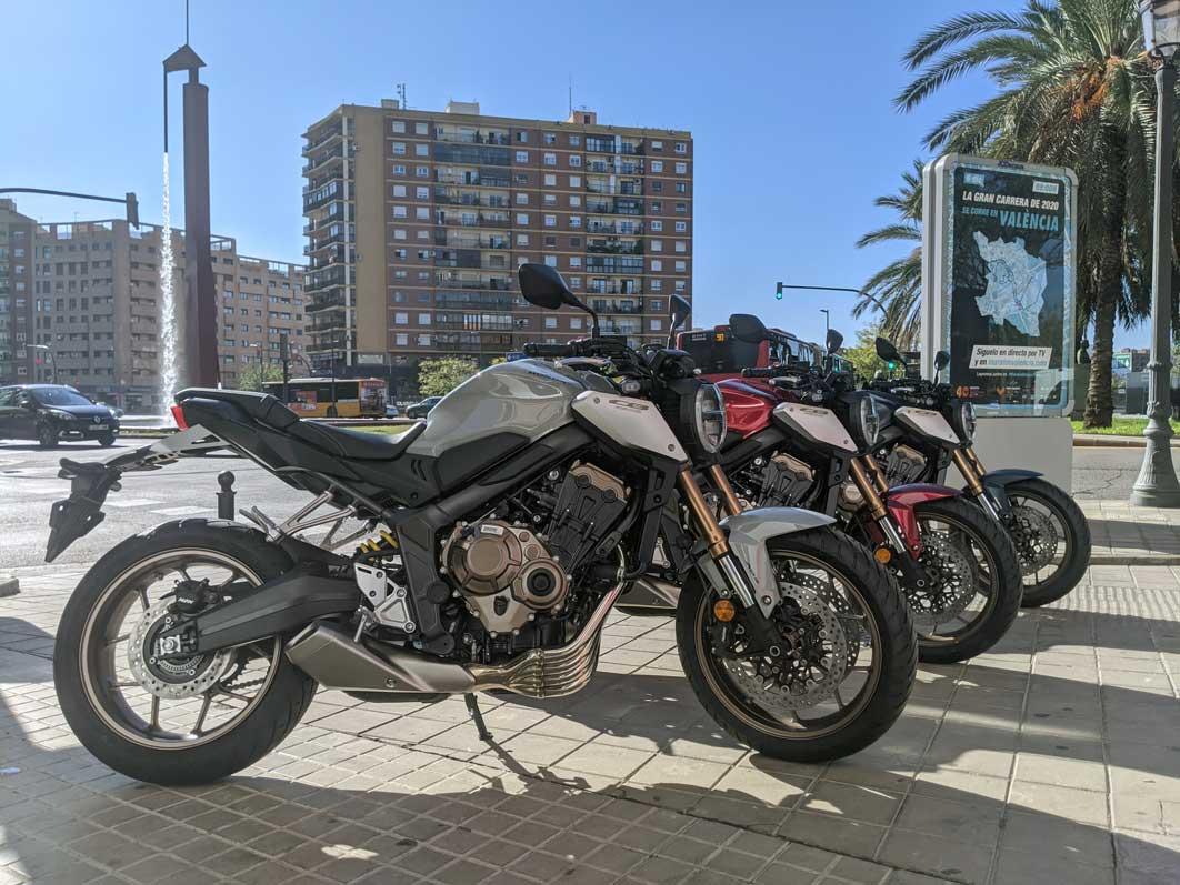 cb650r valencia 2021