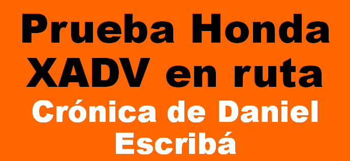 HONDA X-ADV, CONCEPTO ÚNICO!