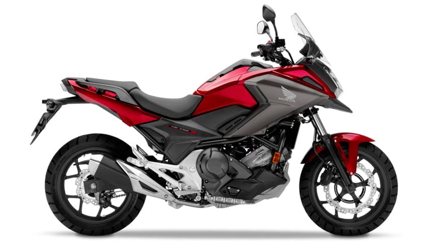 Honda NC750X Rojo Candy