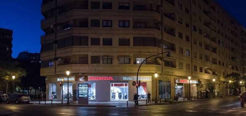 Nuevas instalaciones Honda Moto Valencia.