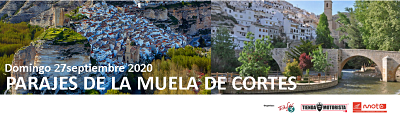 RUTA MOTO CARRETERA PARAJES MUELA DE CORTES 27/09/2020