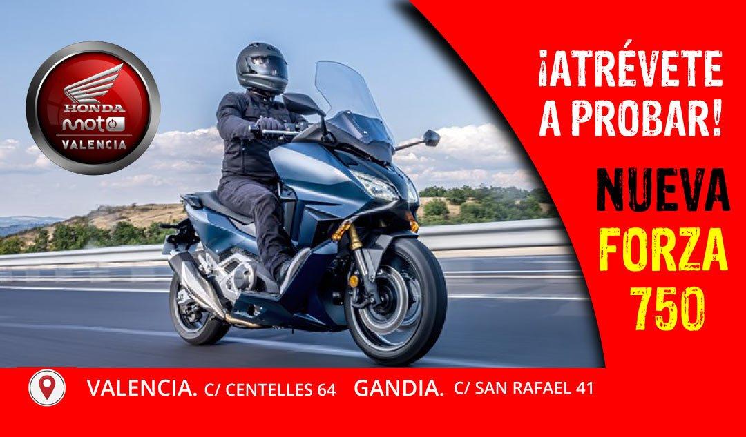 Nueva Forza 750 en Honda Moto Valencia