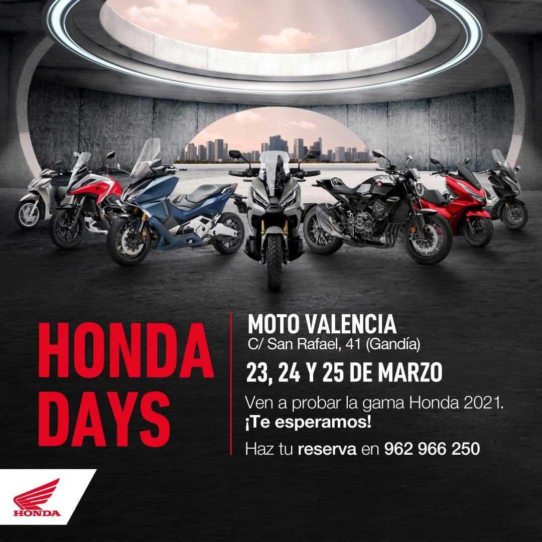 Honda Day 2021 En Honda Moto Gandia.