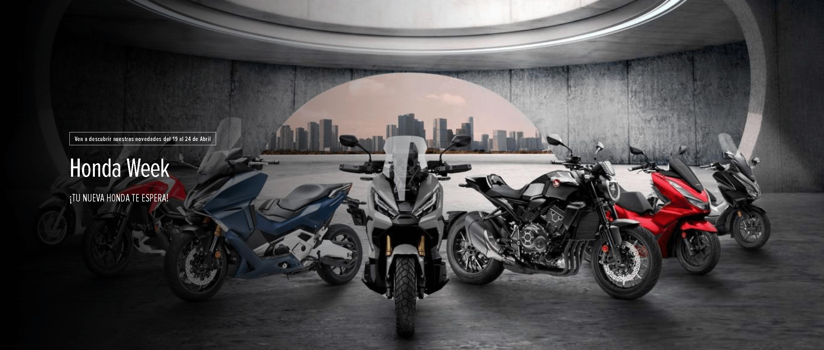 Honda Week 19 al 24 Abril. DESCUBRE LA GAMA HONDA 2021