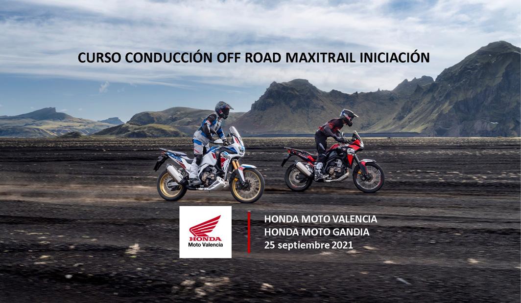 III CURSO DE CONDUCCIÓN OFF ROAD MAXITRAIL 25 SEPT 2021